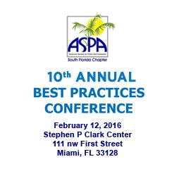 ASPA 2016 Best Practices