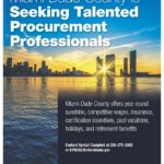 Miami-Dade County is Seeking Talented Procurement Professionals