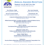 ASPA 2017 Annual Awards Flyer